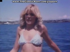 ginger lynn in wild fuckfest on boat