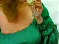 vintage toni - green dress