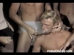 vintage twink circle jerk and suck feast