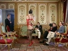 redhead wench eva falk in vintage orgy