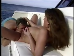 hot blonde honey with huge mambos sucks dong by