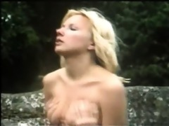 hot retro outdoor fucking