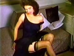 one night - vintage stockings nylons striptease