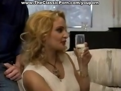 sexy bridesmaid gets dp in a three-some