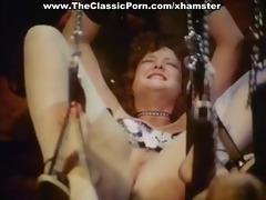 sexy lady has a fuck in classic porn clip