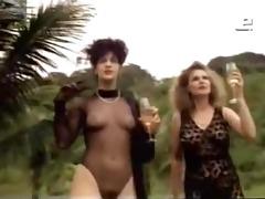 claudia raia and louise cardoso - retro lesbo