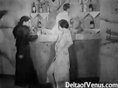 vintage porn from the 1930s - girl-girl-guy