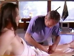 mimi rogers - full body massage (nude) compilation