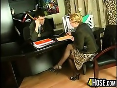 drilled by the boss in the ass