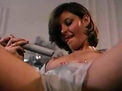 horny wife hoovers her honey hole!