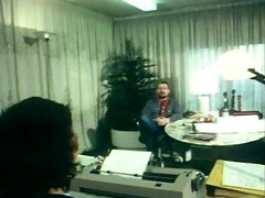 german vintage anal clip - secretary gets