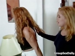 group sex action with very hot blond part3