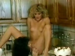 ginger lynn & kristara barrington - kitchen