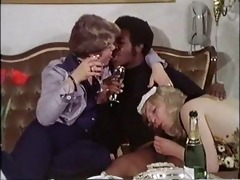 vintage 70s danish - large and black (german dub)