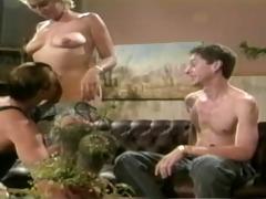 classic bisex male threesome