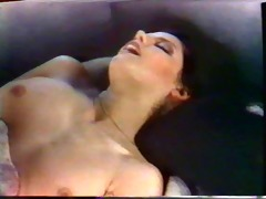 brunette girl caroline grace fucks &;