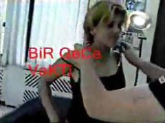 turkish amatuer girl in act