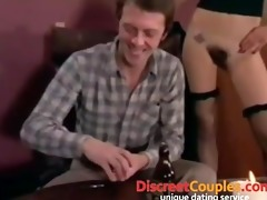 bukkake fuck party with double penetration