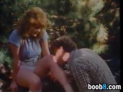 having sex in the woods