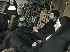 """nuns and a priest: threesome scene from """"il"""