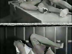 sh retro unshaved girl fucked in locker room