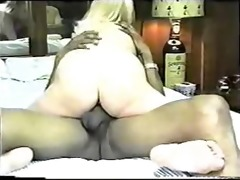 classic homemade interracial cuckold with hawt