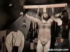 retro group homo extreme bondage
