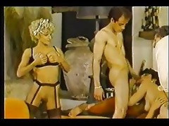 sizzling vintage group sex