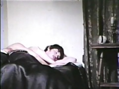 bedroom cock sucking - classic bareback film