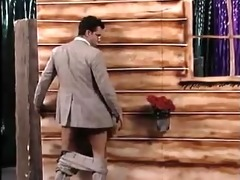guy get sucked by surprise in gloryhole and