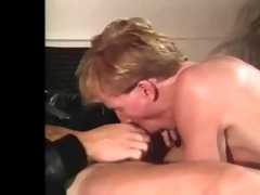 he joins masturbator for a fuck