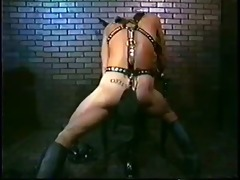 vintage black leather kink act 2