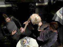 dp virgins double penetration diner - scene 1