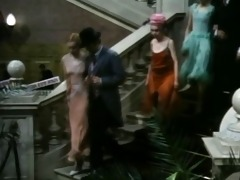 vintage italian clip scene