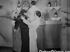 vintage porn from the 1930s ffm trio nudist bar