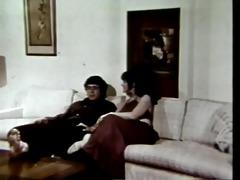 vintage: buxom threesome