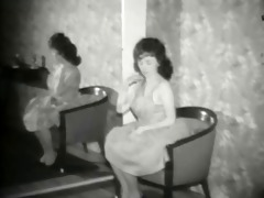 i will follow - vintage diminutive gal tease