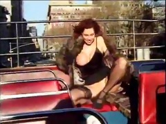 classic hugetitted cougar banging inside and out