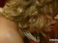 tracey adams - busty 80s pornstar satisfying sex