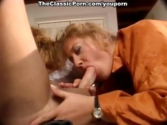 engulf and fuck retro movie scene with guy and