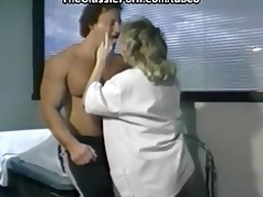 rod rising from skillful nurse hands