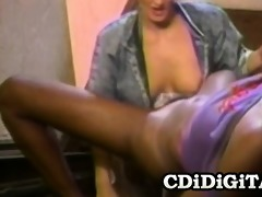 nikki knight and gal kelly - 80s interracial