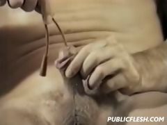 retro gay urethra insertion