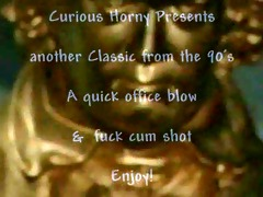 office engulf and fuck classic video