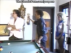 billiard fuck for the unshaved female