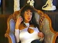 big titted oriental minka has her wet fur pie