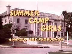 vintage - summer camp angels