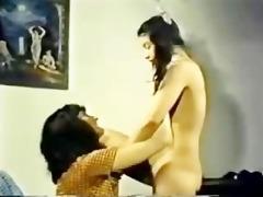 chair retro lesbian shared sex toy