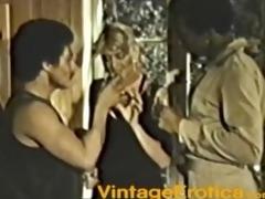 blonde takes black jocks vintage
