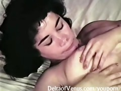 vintage lalin girl exposed & masturbating
